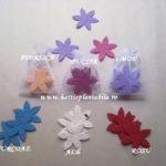Set cu 3 floricele